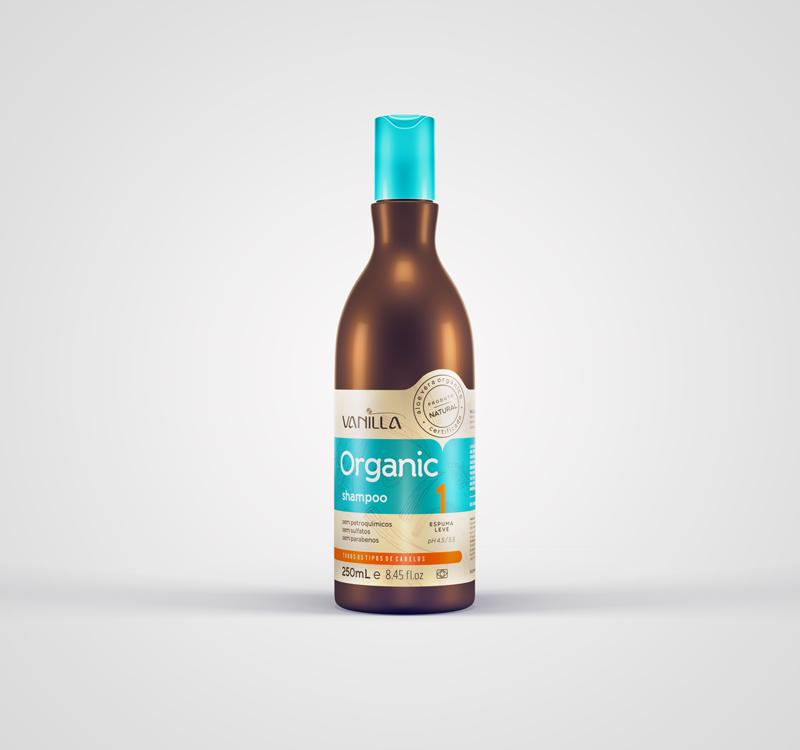 Shampoo Natural Vanilla Organic Aloe Vera de R$34,90 por: